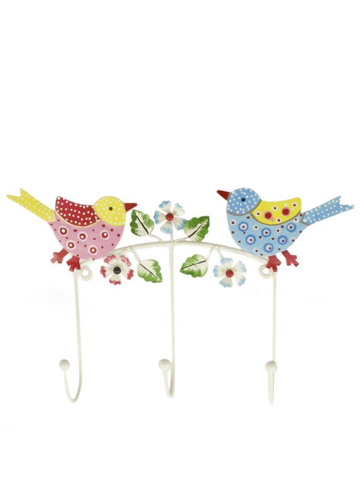 Kapstokje met vogels