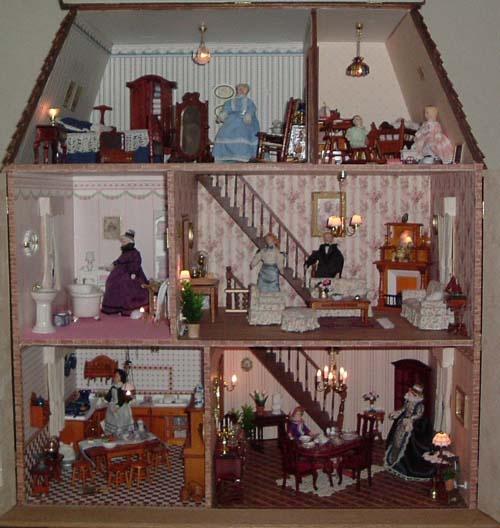 287 Best Images About D0lls Houses On Pinterest