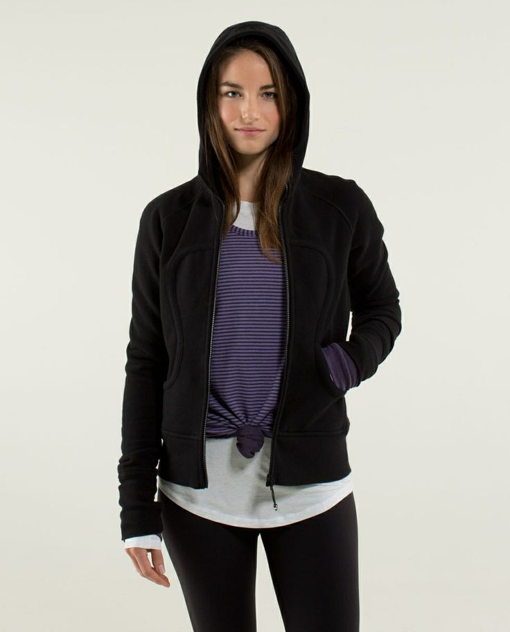 Scuba Hoodie * Stretch (Lined Hood) in Double Diamond @ lululemon $108.00