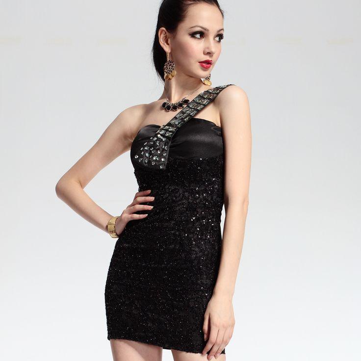 black-short-evening-dress