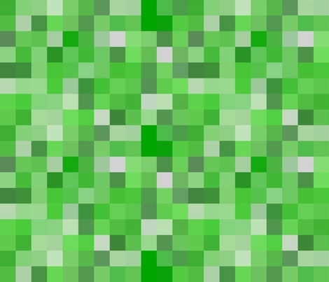 minecraft creeper tileable fabric by willbradley on spoonflower custom fabric lunchbox main. Black Bedroom Furniture Sets. Home Design Ideas