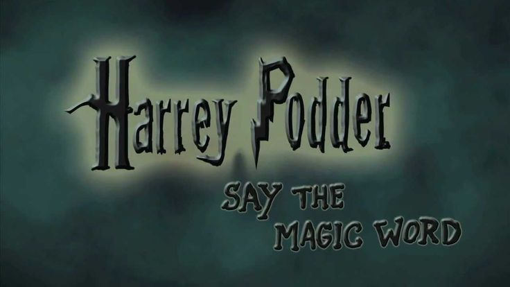 HARREY PODDER: Say the Magic Word MUST WATCH this is what happens when the spells don't go as planned...
