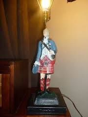 Image result for Drambuie bonnie prince charlie lamps