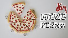 DIY: Mini Pizza EMOJI (Colar da amizade) por Isabelle Verona