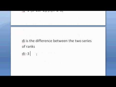 Finding Spearman's rank correlation coefficient | TutorTeddy.com  Statistics homework help