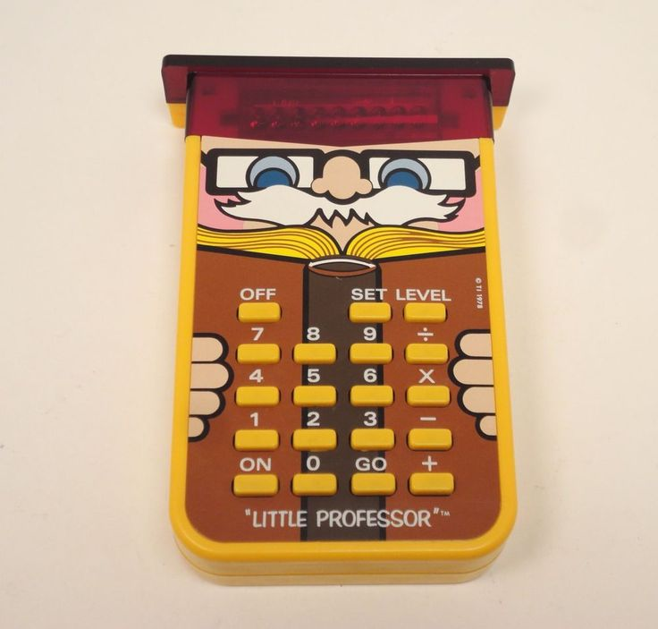 1978 TI Little Professor Vintage Texas Instruments Learning Calculator  #TexasInstruments http://stores.ebay.com/pricelessfinds/Vintage-Collectible-/_i.html?_fsub=10901744017