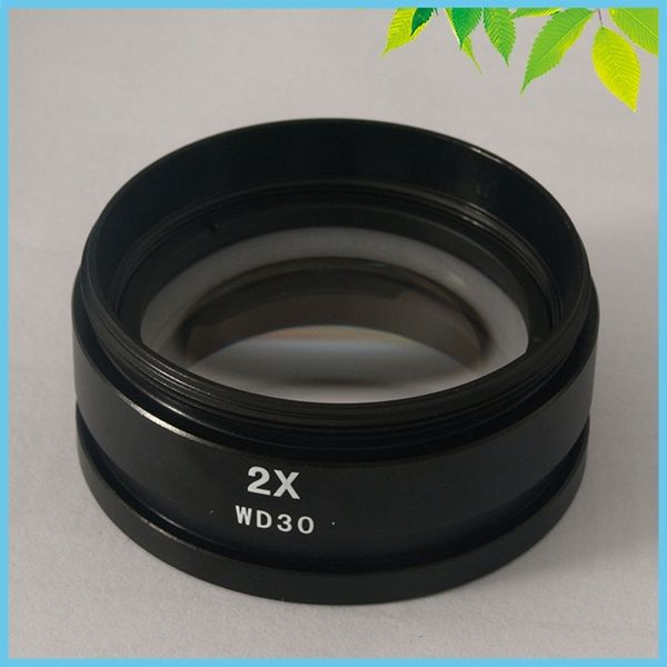28.95$  Watch now - http://aliczc.shopchina.info/go.php?t=32300168692 - Stereo Microscope 2X Barlow Lens 48mm 2X Auxiliary Lens Objective Lens M48*0.75 WD30 for Stereo Microscope 28.95$ #aliexpresschina