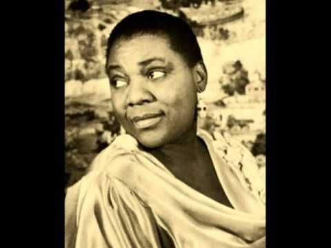 From Bessie Smith in 1929, one of today's b'day celebrants, No Body Knows If You're Down and Out.