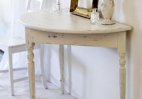 Huonekalujen maalaus vanhan näköiseksi | Meillä kotona