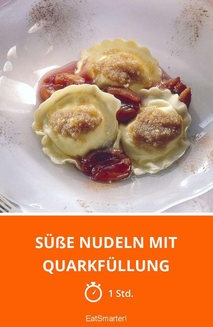 Süße Nudeln mit Quarkfüllung - smarter - Zeit: 1 Std. | eatsmarter.de