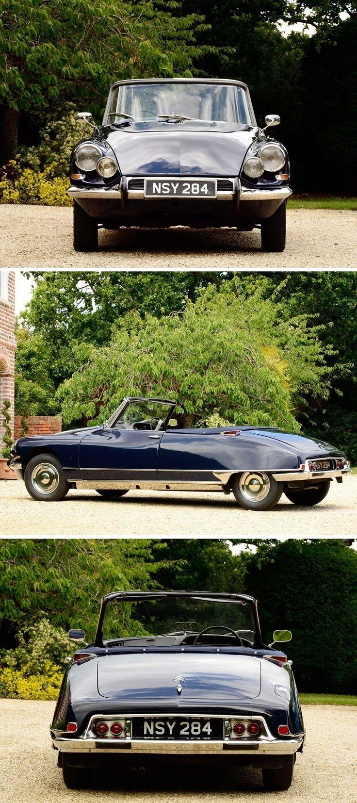 1963 Citroën DS19 Cabriolet de série by Henri Chapron