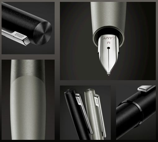 Jasper Morrison designed the Lamy Aion, which features a smooth, deep-drawn aluminium body that gives the pen a uniquely harmonious look and feel.