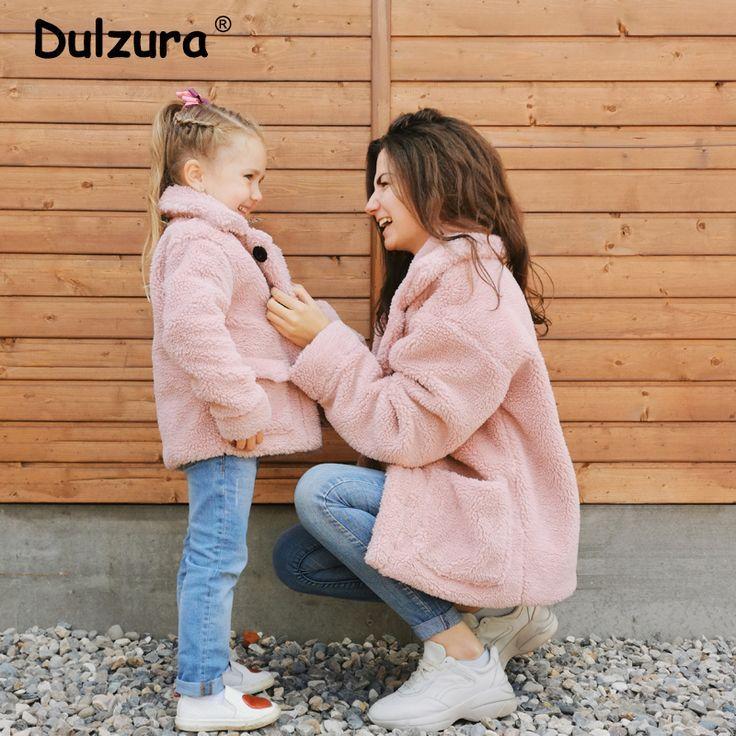 2019 Fashion Mother 038 Datter Teddy Faux Fur #amp #coat # Coats #Daughter # …   2019 Fashion Mother  038  Daughter Teddy Faux Fur  <a class=