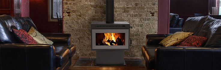 Masport Heating: F3000 FREESTANDING FIRES - This modern day versatile fire can fit into any room easily, and match any style. it's perfect for medium to large areas and has a flat glass door that opens past 90 degrees to make refurling easier. #Heating #WoodFireHeating #FreestandingFires #Masport #HearthHouse