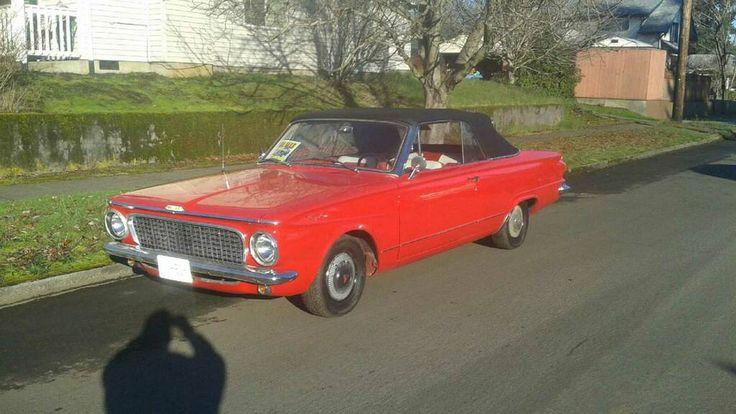 Rare 1963 Canadian Built Valiant Convertible Plymouth