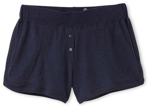 Womens tube knit shorts