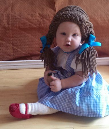 23 cute and creative baby halloween costumes - Cabbage Patch Halloween Costume For Baby