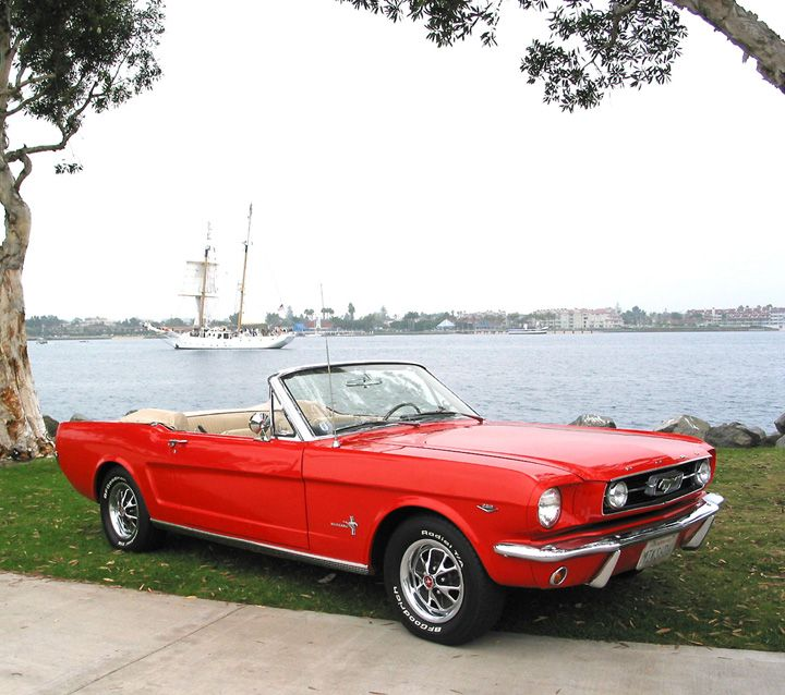 "63 convertible mustang. I know it's probably a weird thing to want, but I've always wanted a ""muscle car."""