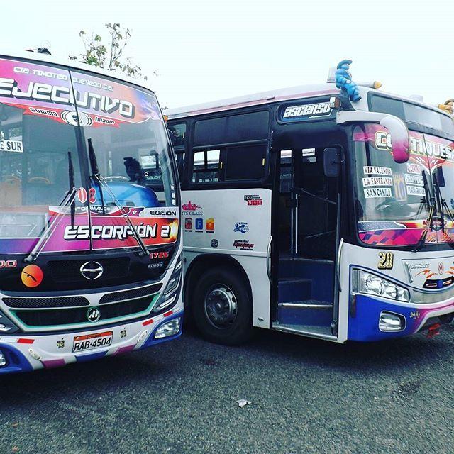 #IG portalxv.com   En #Quevedo buses urbanos sometidos a revisiones técnicas 158 buses urbanos que forman parte las siete compañías de…