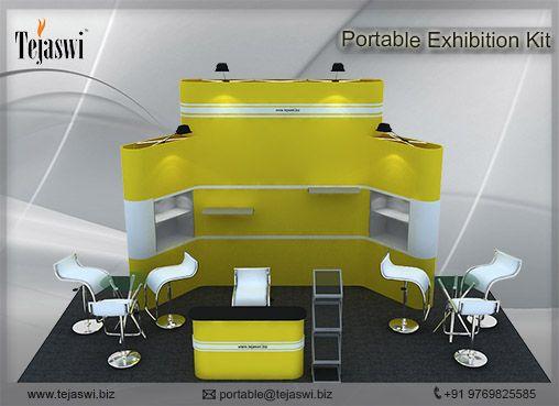 Portable Exhibition Kit : Meter meter portable exhibition kit side open s