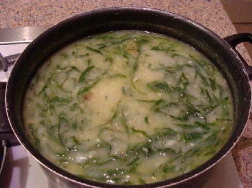 Receita de inverno: Caldo verde vegetariano