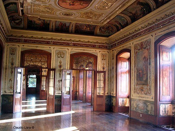 Museu do Primeiro Reinado - interior do palacete carioca da marquesa de santos amante de dom pedro primeiro bairro de Sao Cristovao Rio de Janeiro