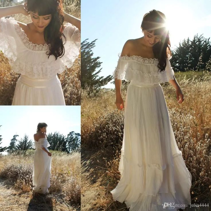 31 Best Boho Wedding Dresses Images On Pinterest