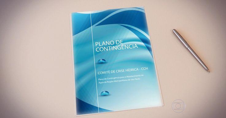 Plano de contingência da crise hídrica em SP prevê rodízio em  emergência  www.geraldosouzamagazine.com.br