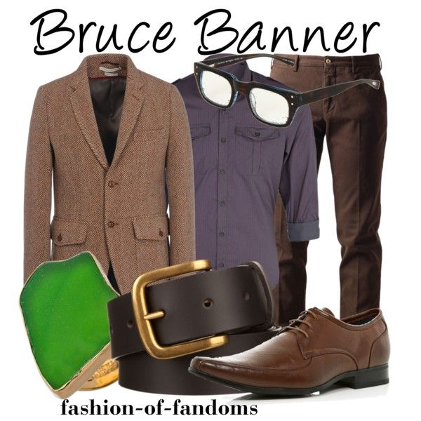 Bruce Banner by fofandoms on Polyvore
