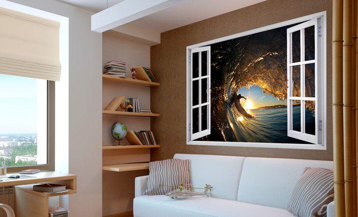 Magic windows 3d vinilos con arte vinilos decorativos - Vinilos con arte ...