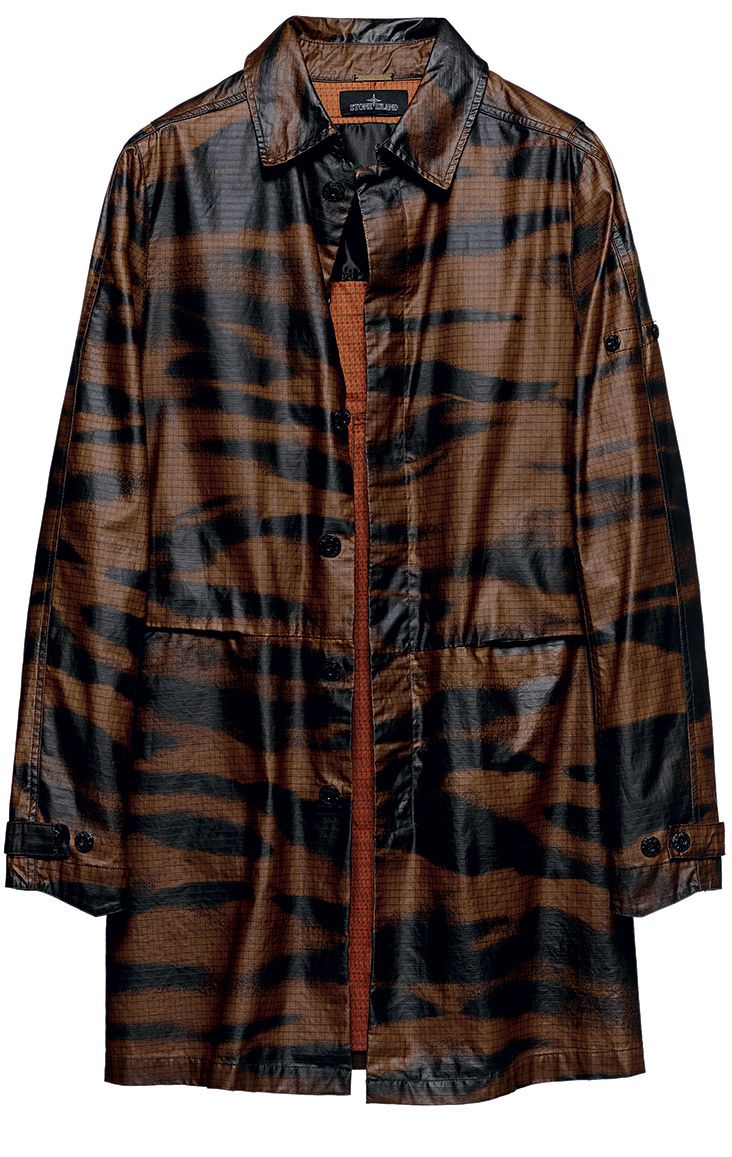 Stone Island Shadow Project AW'014'015 70303 Car Coat_ DPM  Grid-R Inverse   www.stoneisland.com
