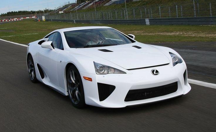 2012 Lexus LFA super sports car