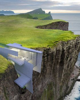 Cliff hotel with breathtaking sea views built into cliff in Iceland | Daily Star