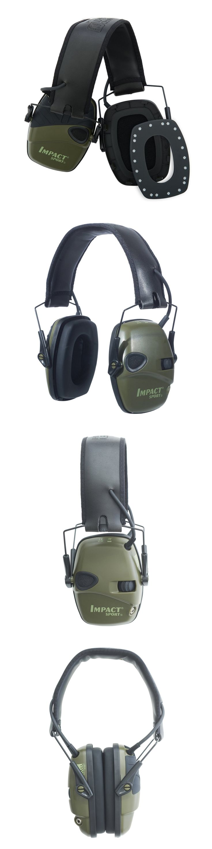 Hearing Protection 73942: Gun Ear Muff Protection Earmuff Hearing Shooting Noise Electronic Folding Green -> BUY IT NOW ONLY: $55.07 on eBay!