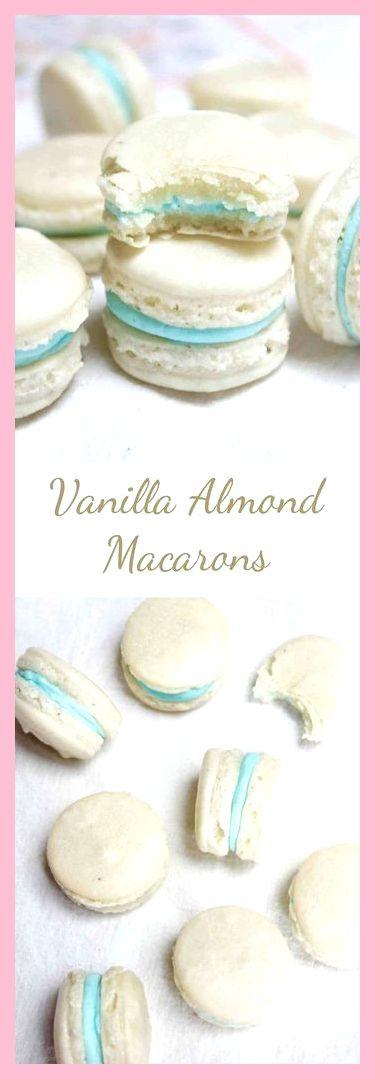 All Time Easy Cake: Vanille- und Mandelmakronen, Mandelmakronen und Vanille
