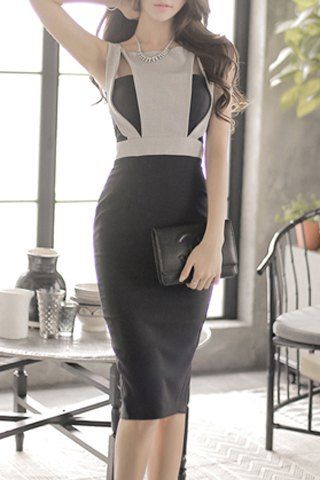 SHARE & Get it FREE | Elegant Hollow Out Scoop Neck Sleeveless Dress For WomenFor Fashion Lovers only:80,000+ Items • New Arrivals Daily • Affordable Casual to Chic for Every Occasion Join Sammydress: Get YOUR $50 NOW!