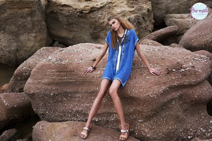 Tunic Zineb・Salt in the air Sand in my hair lookbook