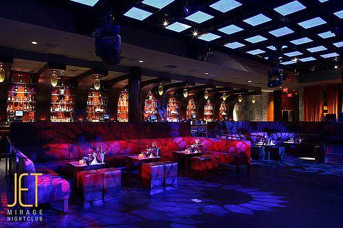 VIP Seating at JET Nightclub