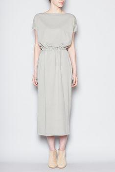 Black Crane Long Dress (Sage) http://totokaelo.com/store/designers/black-crane