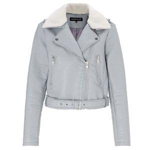 Warehouse Bubble Borg Collar Jacket £65
