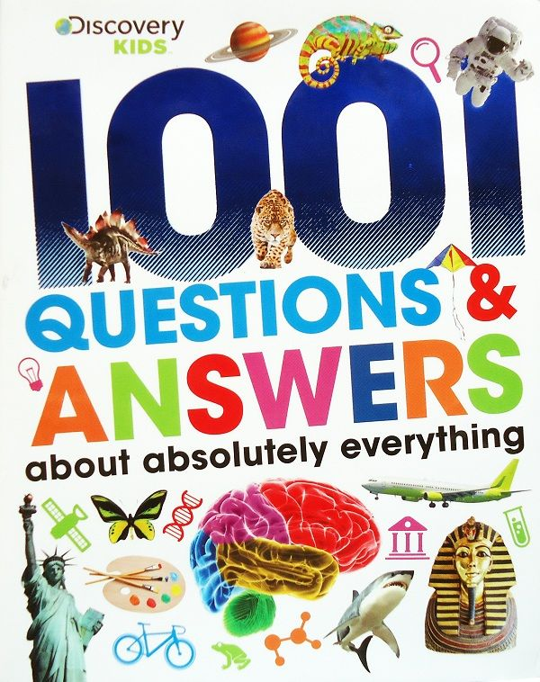 Buku Pelajaran Bahasa Inggris : Discover Kids: 1001 Questions & Answers about Absolutely Everything