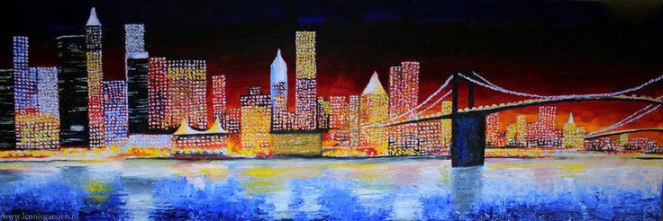 new york skyline art - Google Search