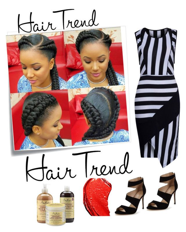 """""""Hair trend"""" by yu-n-me ❤ liked on Polyvore featuring beauty, Post-It, WithChic, Carvela, Tom Ford, hairtrend and rainbowhair"""