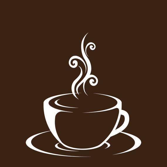 Set of 3 Coffee Cup Canvas Wraps Espresso Art by SadiesCanvas