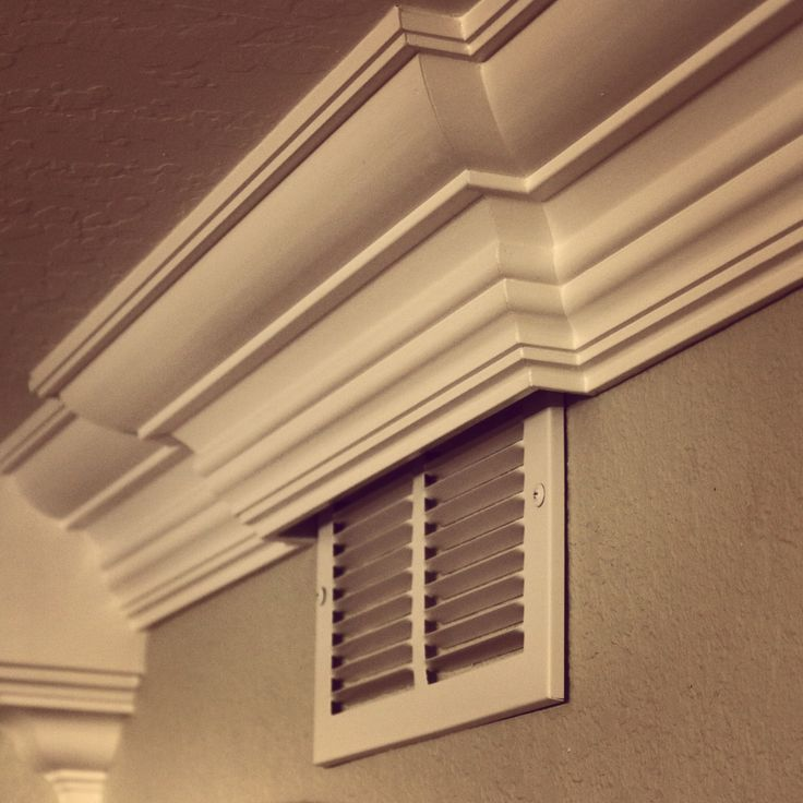 How To Crown Around A Heater Vent Crown Moulding
