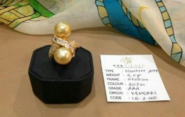 Southsea Ring. We are selling the best Southsea, akoya, tahitian, and Freshwater pearls with certificate of authenticity and affordable price. Pearlsolstore.com/r/almyruzni