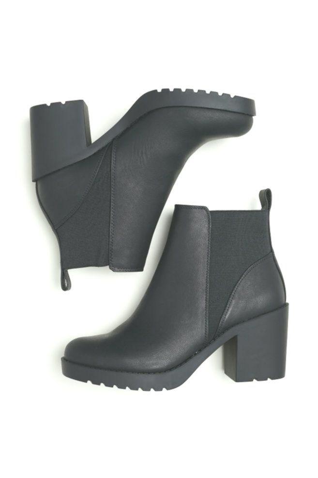 Boots, Black ankle boots, H\u0026m boots