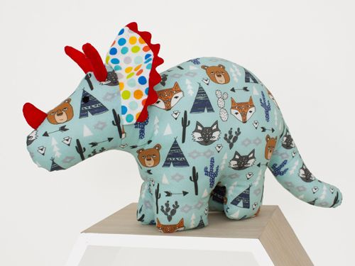 Dinosaur Soft toy - handmade with love by Cute Cuddles NZ.  The perfect baby shower and early birthday gifts that everyone will love. Creating memories that last a lifetime!