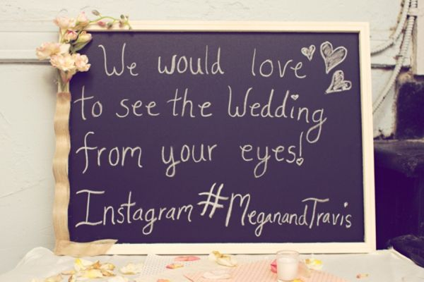 Like the wording for guests using Instagram