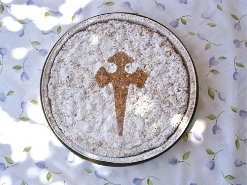 A caring gift - this St James cake